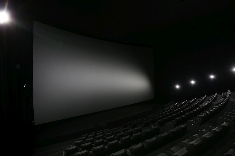 The IMAX hall features a gigantic 22m screen.