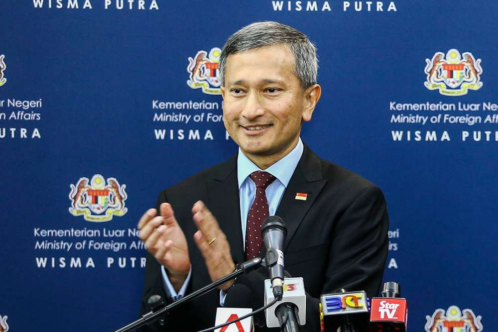 Minister for Foreign Affairs of Singapore Dr Vivian Balakrishnan will visit Kedah and Penang today and tomorrow. — Picture by Hari Anggara