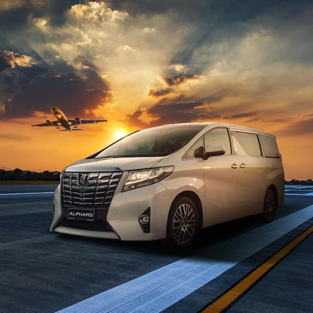 Lexus is set to debut a minivan based on the Toyota Alphard pictured here. — Picture from Instagram/toyotamy