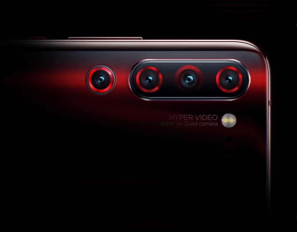 A picture showing the four rear cameras on the Lenovo Z6 Pro. — Picture courtesy of Weibo/ ideamagic
