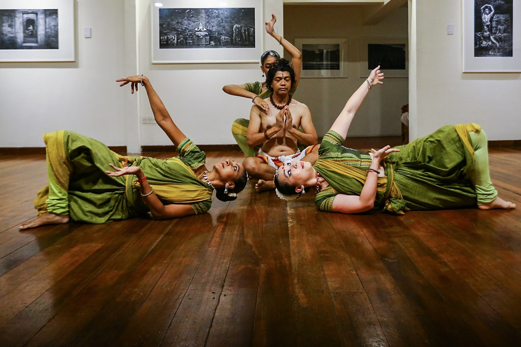 'Odissi on High' will tour eight cities in India in May. — Pictures and video by Hari Anggara