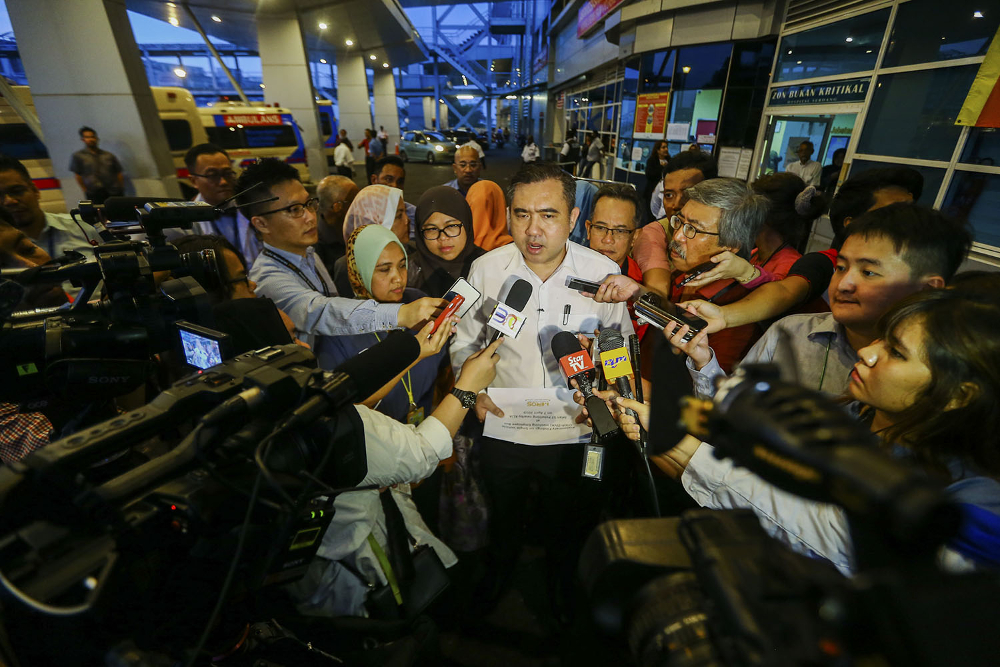 Loke said the new ruling was the result of a request from women commuters. — Picture by Hari Anggara