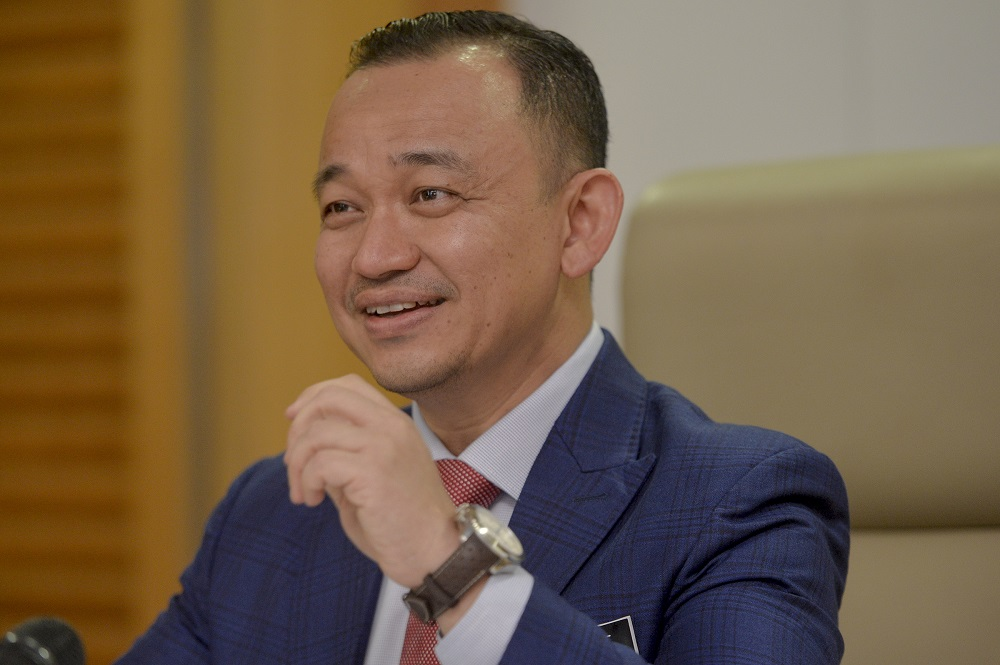PBDS Baru president Bobby anak William claimed Education Maszlee Malik (pic) had hurt the feelings of teachers and students in the two Borneo states celebrating Gawai Dayak and Pesta Kaamatan by leaving out mention of the harvest festivals. — Picture by Mukhriz Hazim