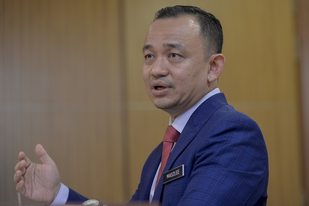 Education Minister Maszlee Malik said the Cabinet 'works as usual' on the Labour Day today by holding special meeting aimed at creating more job opportunities. — Picture by Mukhriz Hazim