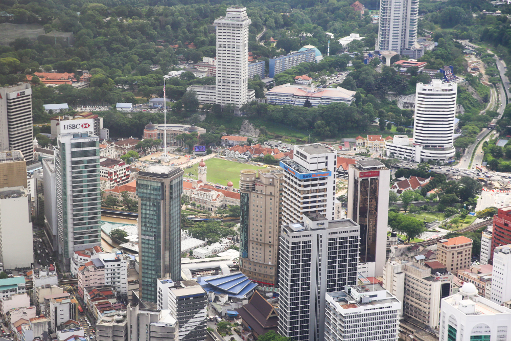 Malaysia's economic growth is likely to dip to 4.5 per cent for 2020. — Picture by Choo Choy May