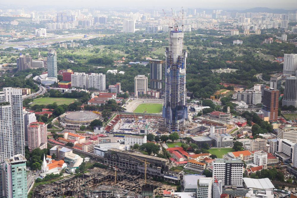 According to the National Property Information Centre (NAPIC), the property market's performance recorded a sharp decline in the first half (1H) of 2020. — Picture by Choo Choy May