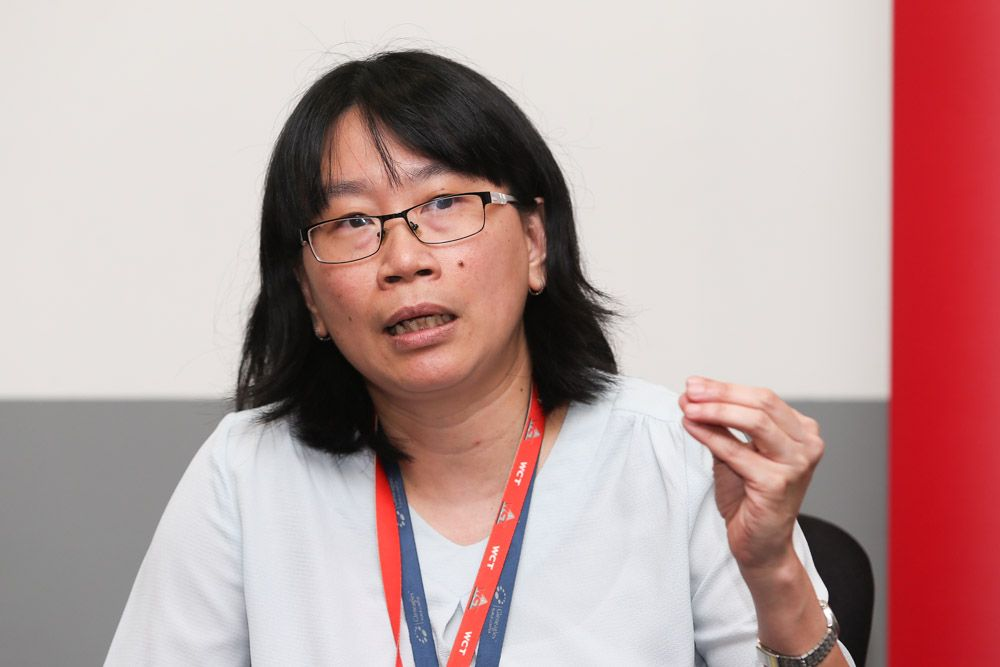 Gleneagles Hospital Kuala Lumpur consultant neurologist Dr Ooi Phaik Yee gives insights about the Parkinson's disease. — Picture by Choy May Choo