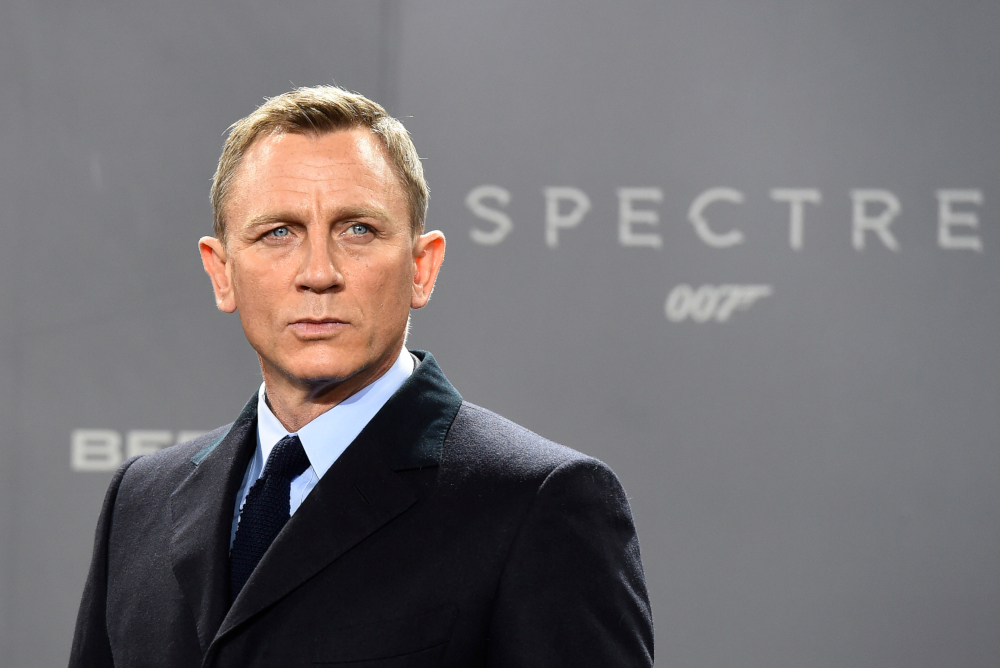 After 15 years playing the legendary British spy James Bond, Daniel Craig is making way for a new generation of actors. — AFP pic