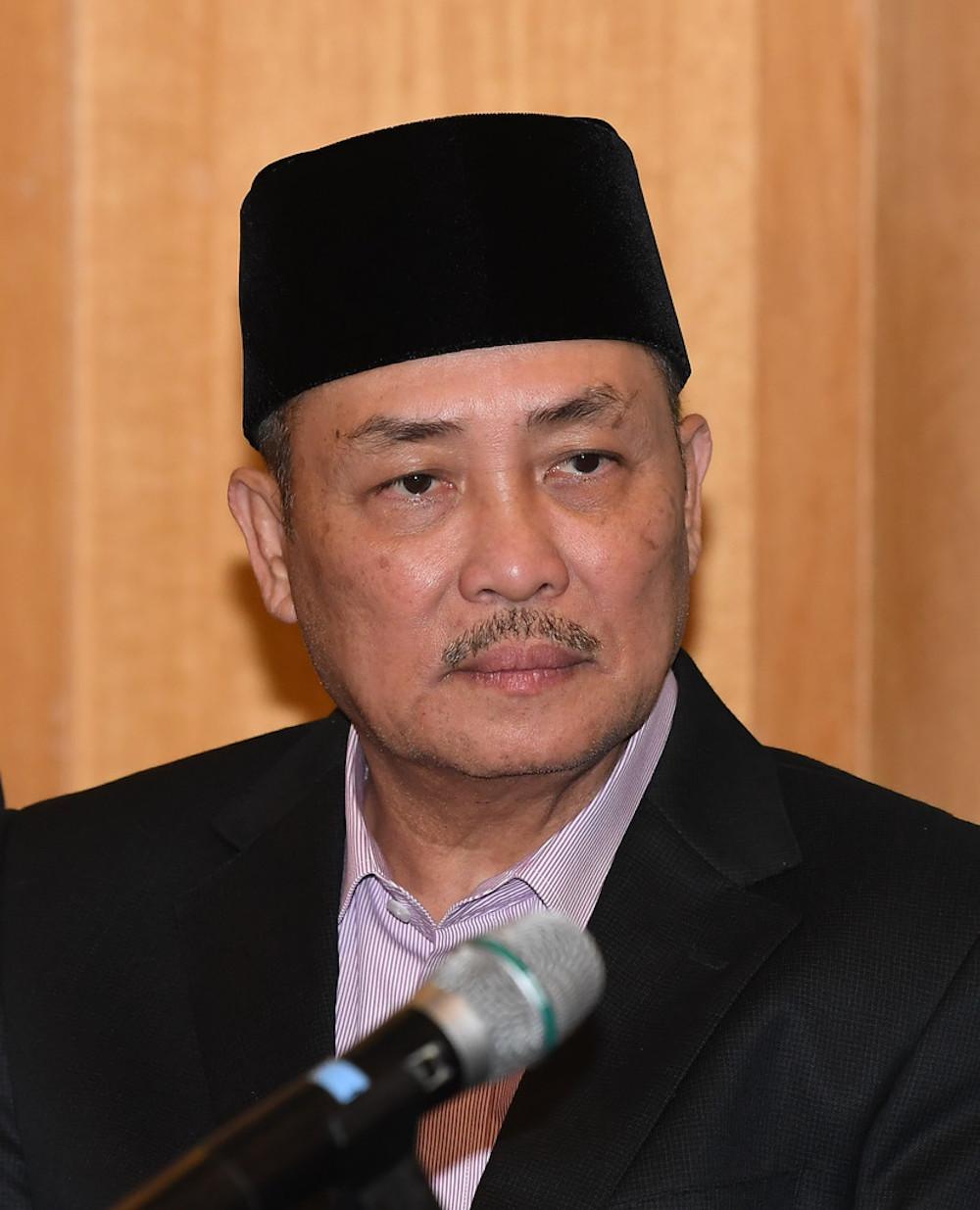 Sulaman assemblyman Datuk Hajiji Mohd Noor. — Bernama pic