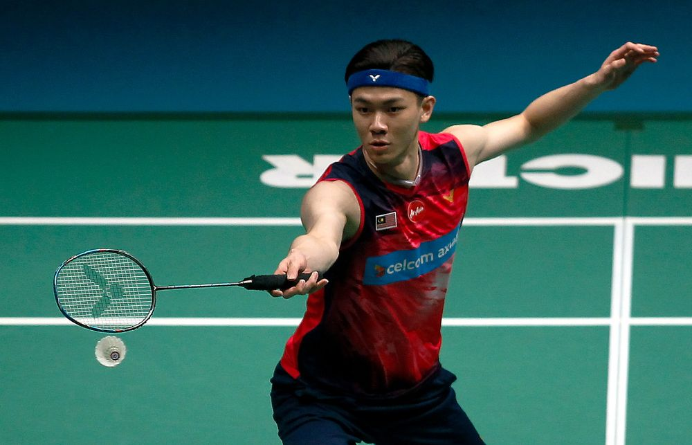 National player Lee Zii Jia will have high expectations to meet at his Olympics debut. — Bernama pic