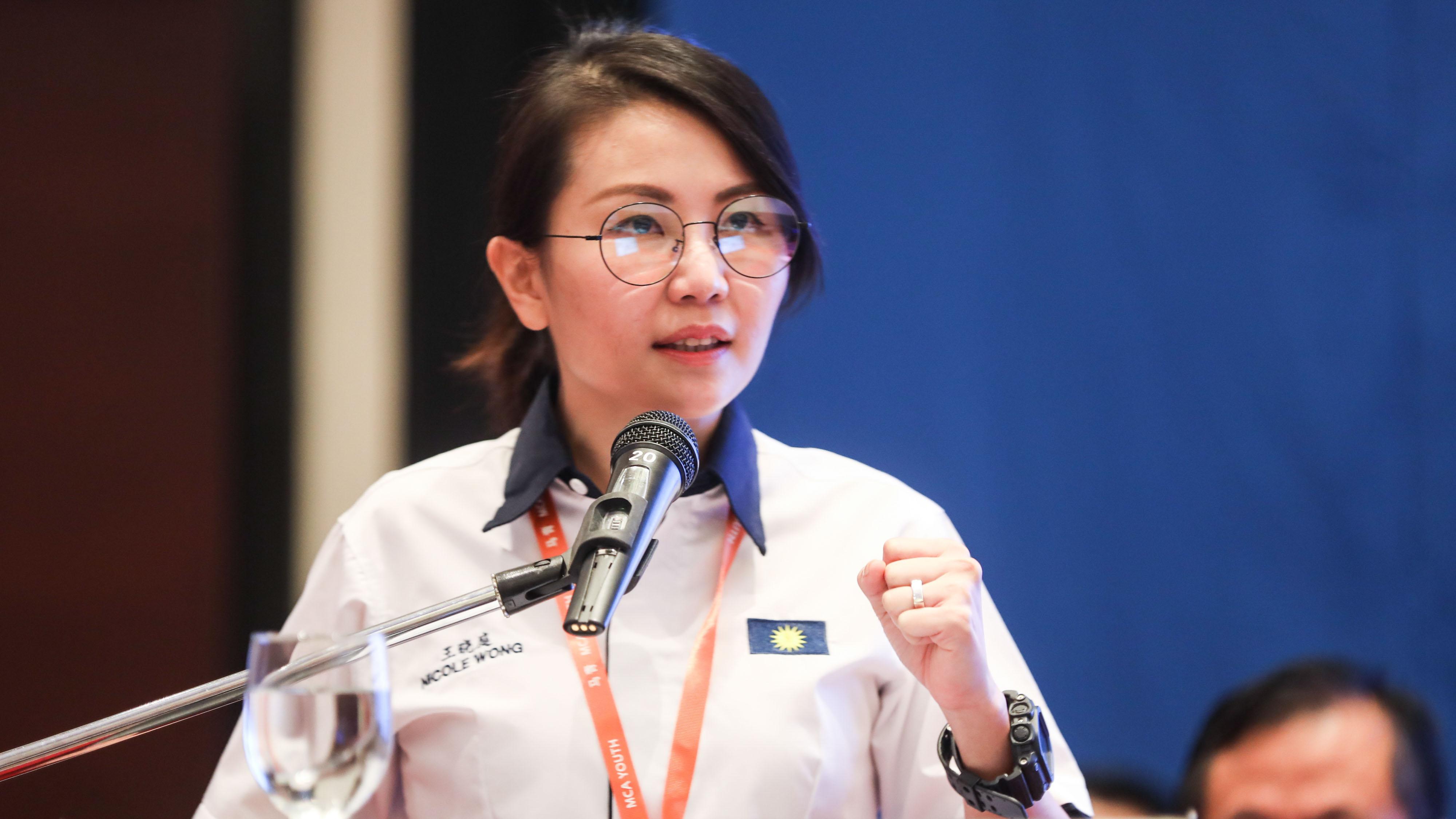 王晓庭说,除了吸引青年入党,还得教育青年有关政治的重要性。-档案照-