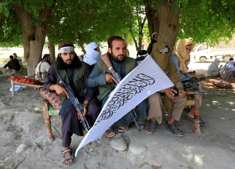 The Taliban have long refused to negotiate with his government. — Reuters pic