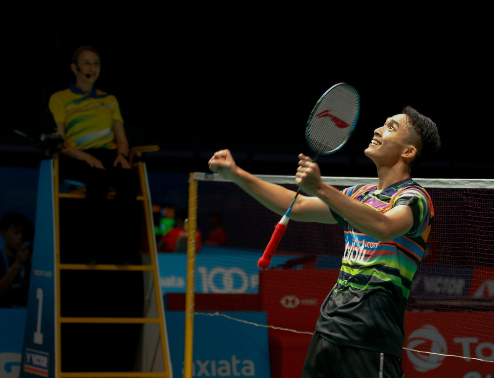 Several Indonesian players won yesterday, including men's fifth seed Jonatan Christie. — Bernama pic