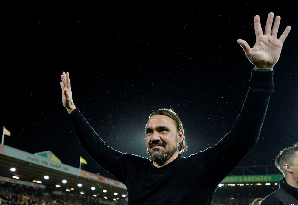 Farke arrived at Carrow Road in 2017 from Borussia Dortmund and led Norwich to the top flight in 2019, before relegation in 2020 and subsequent bounce back. — Reuters pic