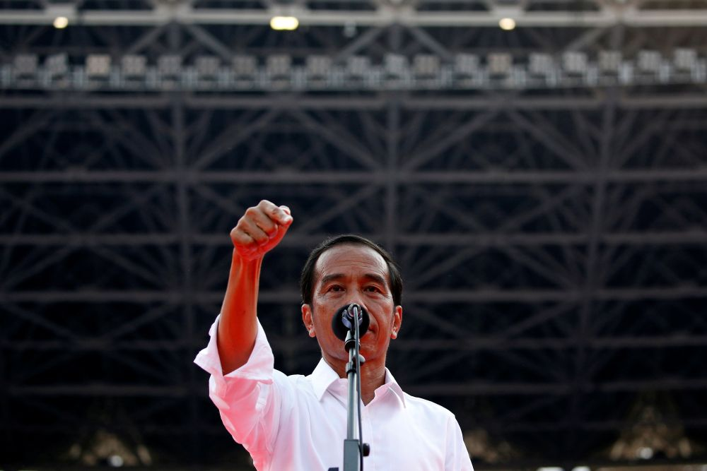 Indonesian President Joko Widodo will be formally welcomed on August 9 at the Dataran Perdana, Putrajaya during his official visit to Kuala Lumpur. — Reuters pic
