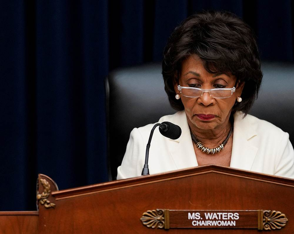 US Rep. Maxine Waters called for a change in policing. — Reuters pic