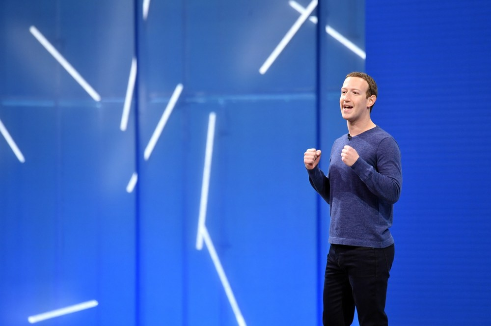 Facebook CEO Mark Zuckerberg speaks during the annual F8 summit at the San Jose McEnery Convention Center in San Jose, California on May 1, 2018. — AFP pic