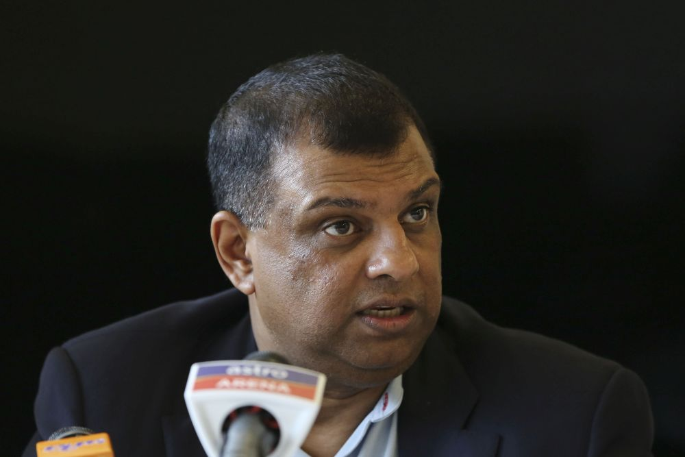AirAsia Group chief executive officer Tan Sri Tony Fernandes said the airline would continue to focus on Asean and has no plans to close its operations in Japan. — Picture by Yusof Mat Isa