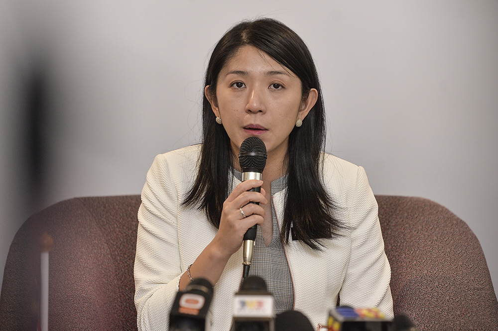 Minister of Energy, Science, Technology, Environment and Climate Change Yeo Bee Yin said the restructuring would be made through the DOE Road Map in the first quarter of this year. — Picture by Miera Zulyana