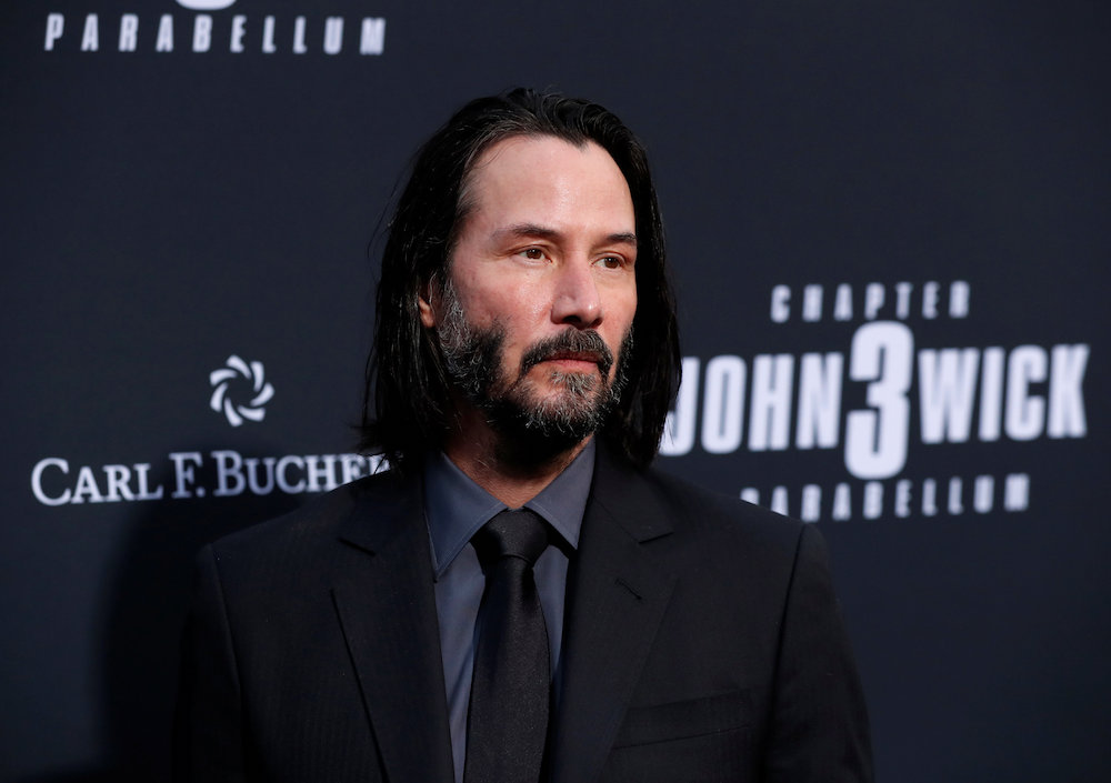 Keanu Reeves will reprise his role as kung fu-kicking, shades-wearing hero Neo in 'Matrix 4'. — Reuters pic