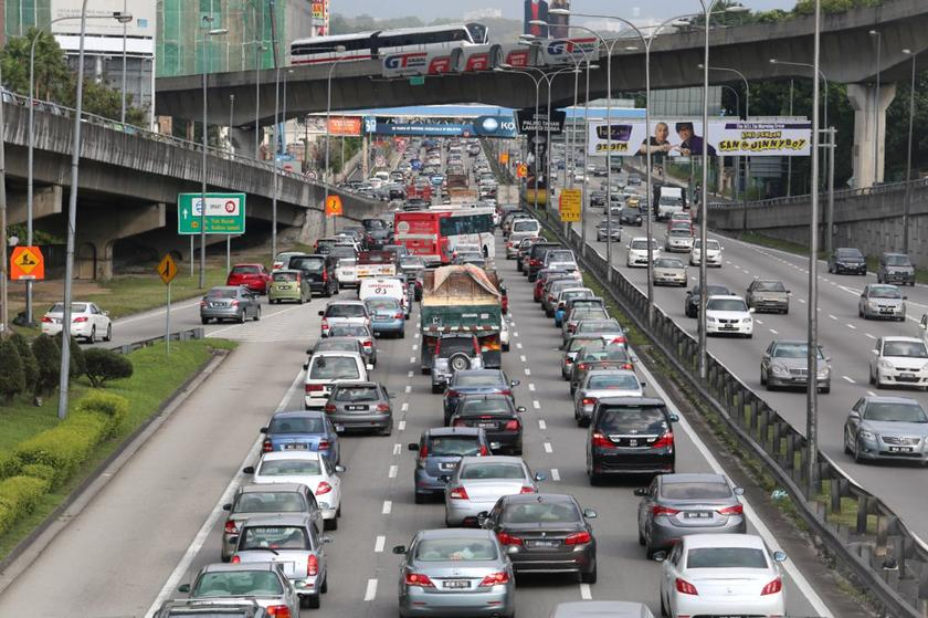 JPJ's director-general (Planning and Operations) Zamakhshari Hanipah said, the summonses were issued for major offences as such beating traffic lights, overloading of vehicles, not wearing seat belts and proper helmets. — Picture by Choo Choy May