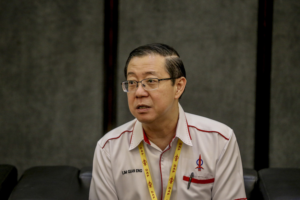 Finance Minister Lim Guan Eng says Malaysia has gained the 'tolerance' element needed for digital innovation when Pakatan Harapan became the federal government. — Picture by Firdaus Latif