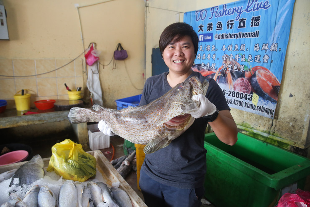 Together with a few partners, Audrey Goo started MyFishMan which is an online seafood delivery service. — Picture by Choo Choy May