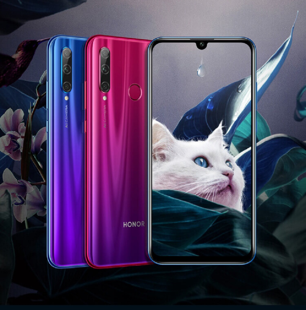 The Honour 20 Lite. — Picture courtesy of Honour