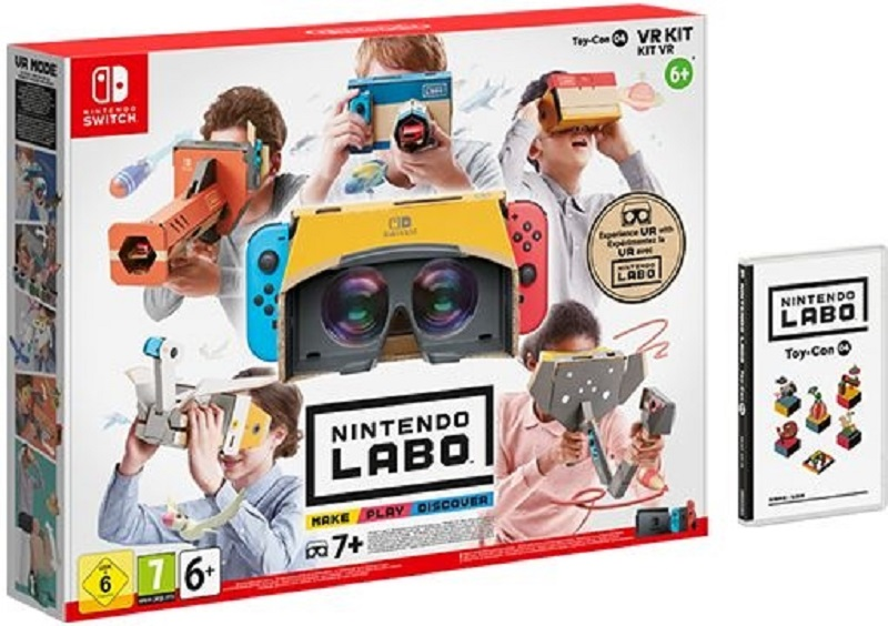 The Nintendo Labo VR Kit is part of a range that encourages play, experimentation and learning. — Picture courtesy of Nintendo