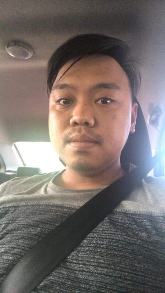 Grab driver Mohd Hanafiee Jaffar was reported missing on Saturday. A body that was found in Tuaran is currently in the process of being formally identified. — Picture via Facebook/Yinyin Ayin