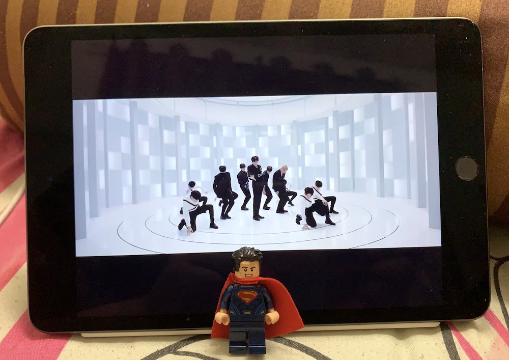 The iPad mini might not be the best for video unless you're already watching movies on too-small phone screens. — Picture by Erna Mahyuni