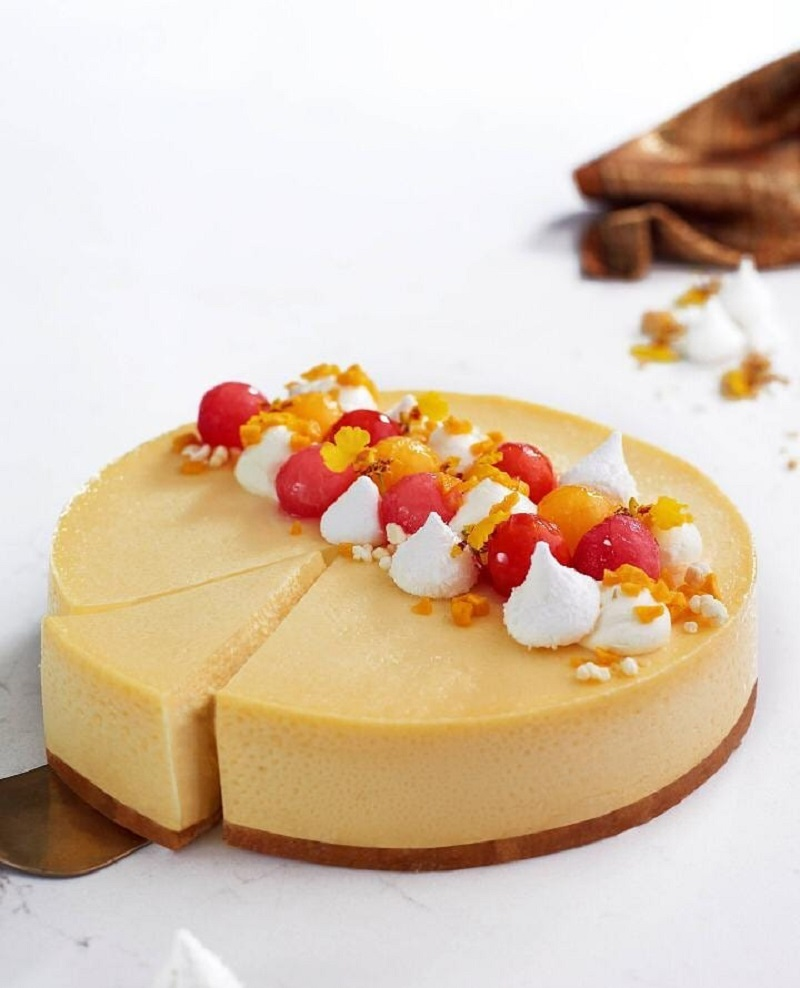 The celebrity chef's Durian Cheese Cake Delight is selling like hot cakes. — Picture from Instagram/_chefwan58