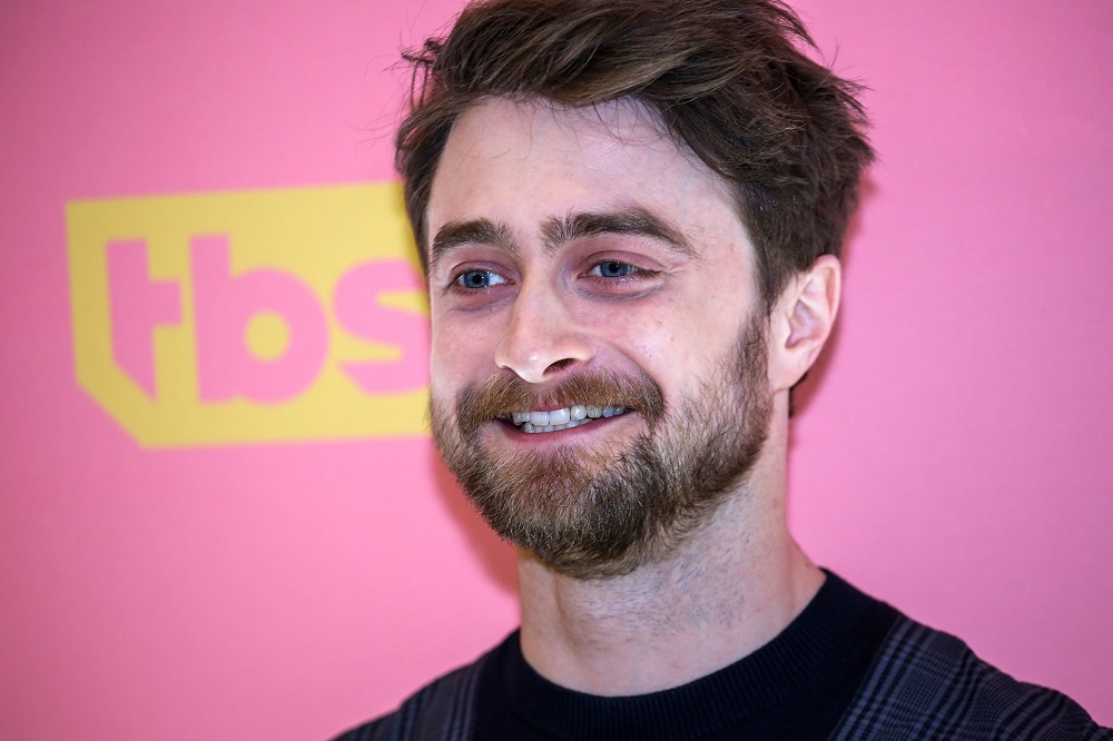 English actor Daniel Radcliffe arrives to attend the screening of TBS' 'Miracle Workers' at Buttenwieser Hall in New York May 14, 2019. — AFP pic