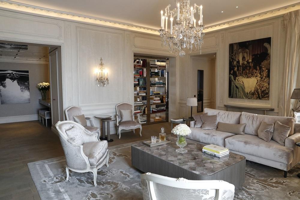 A room at the Hotel de Crillon in Paris. — AFP pic