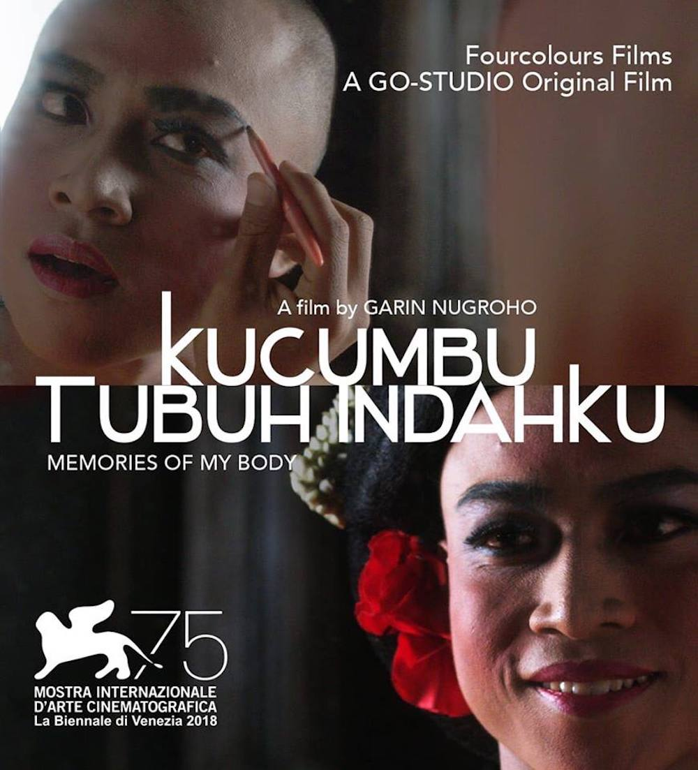 Garin Nugroho's 'Memories of My Body', about a male dancer exploring his sexuality and gender identity, has won prestigious awards and been shown at international film festivals. — Picture via Facebook/OfficialRandyPangalila