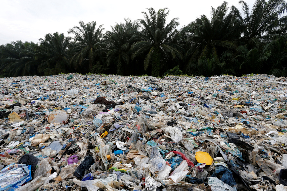 Malaysia plans to implement measures to limit the entry of plastic waste into the country. — Reuters pic