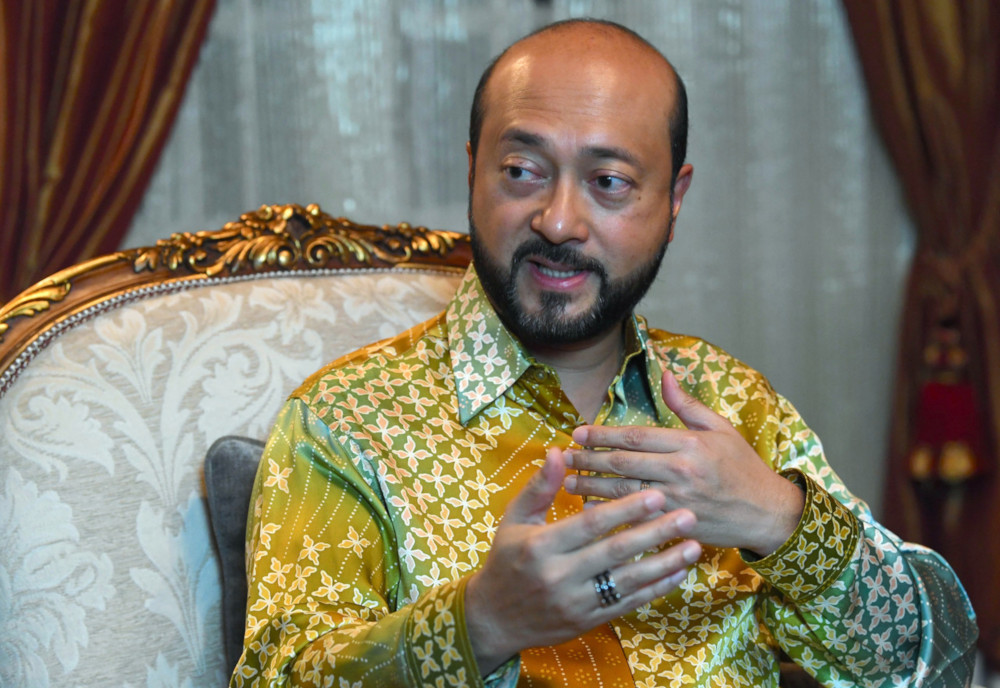 Kedah Mentri Besar Datuk Seri Mukhriz Mahathir says the state government will the Ulu Muda forest as a state park in order to preserve water supply. — Bernama pic