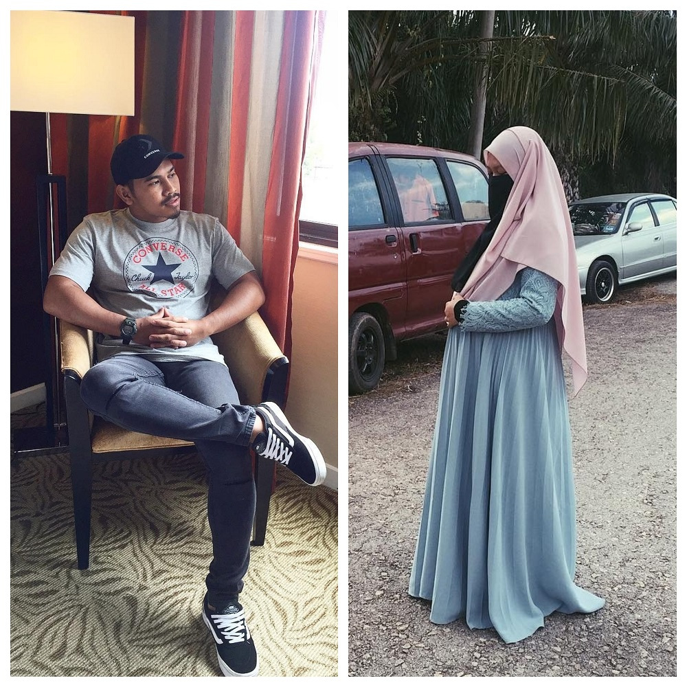 The newly divorced expectant mum was answering live chat questions on Instagram this afternoon. — Picture from Instagram/PU Abu and Ain Afini