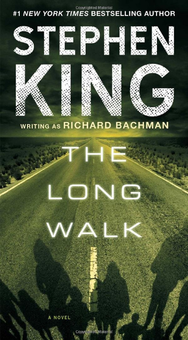 A picture of 'The Long Walk' courtesy of Pocket Books that Stephen King released in 1979, after working on it for over 13 years. — AFP pic