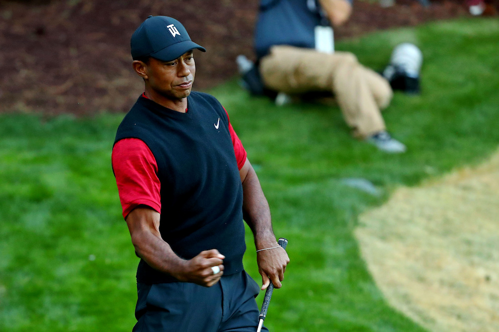 Tiger Woods's US PGA tournament will have an invite-only field of 120 players competing for a US$9.3 million (RM38.3 million) purse, a boost of US$1.9 million from this year's event. — Reuters pic