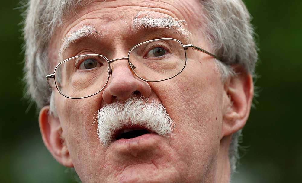 Bolton's tell-all has been a point of interest in the proceedings. — Reuters pic