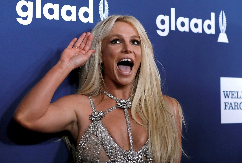 Britney Spears is in a court battle seeking to replace her father as her conservator. — Reuters pic