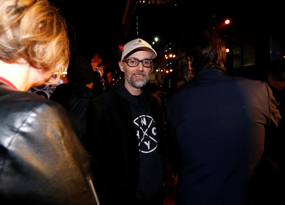 Musician Moby arrives at the world premiere of the film 'Rogue One: A Star Wars Story' in Hollywood, California December 10, 2016. — Reuters pic
