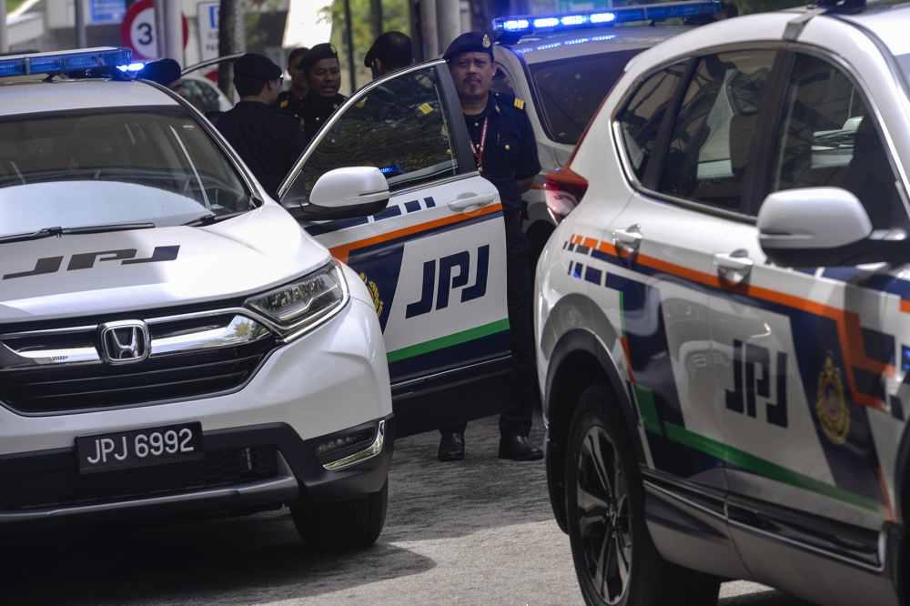 The new units of the Honda CRV at Persada PLUS in Petaling Jaya May 16, 2019. ― Picture by Mukhriz Hazim