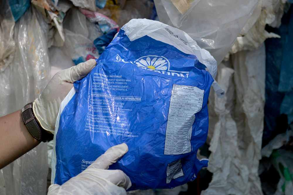 Various kinds of plastic waste from different countries will be sent back to the exporter's country by the Malaysian government at West Port in Port Klang May 28, 2019. ― Picture by Mukhriz Hazim