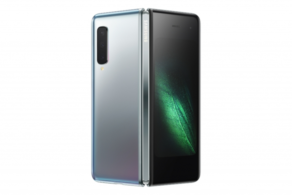 Samsung is allegedly modifying the Galaxy Fold design before official release. — Picture courtesy of Samsung via AFP-Relaxnews