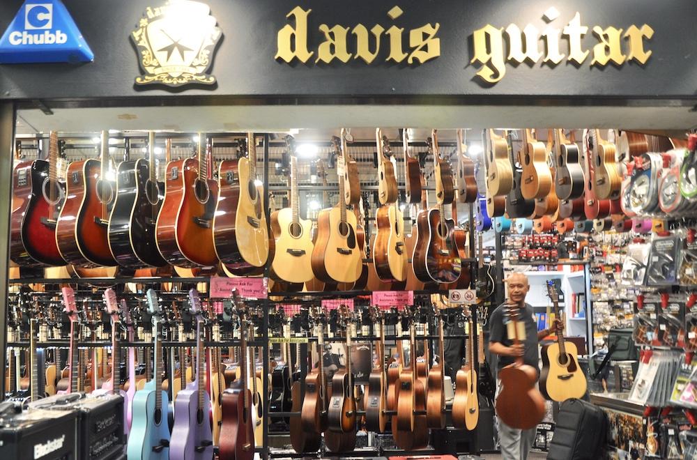 Davis Guitar. — TODAY pic