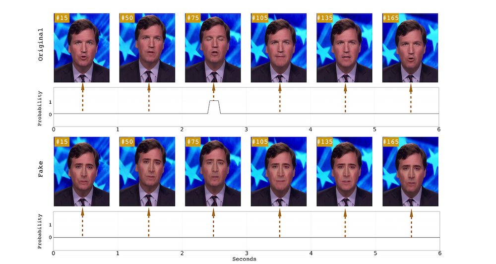 According to research done at the University at Albany, one of the easiest ways to tell if a video is indeed deepfake is to observe the eyes of whomever is in the video. — Picture via SoyaCincau