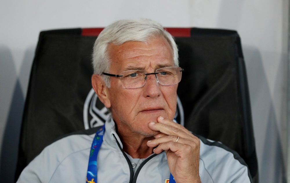 China coach Marcello Lippi's squad at this year's Asian Cup in the United Arab Emirates was one of the oldest at the tournament. — Reuters pic