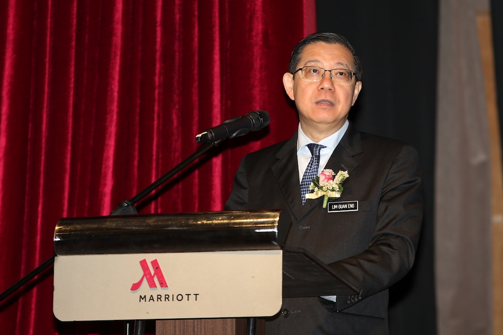 Finance Minister Lim Guan Eng had claimed that Sarawak reserves of RM30 billion would be wiped out if the GPS government continued to table a large state budget.. — Picture by Choo Choy May